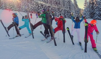 Kinder-Skitraining-